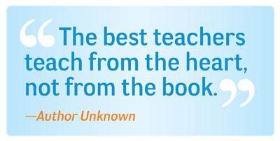 A Good Teacher Should