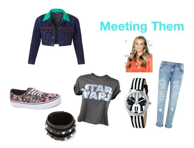 """Meeting Them"" by awesomedesi ❤ liked on Polyvore featuring Vans, Valentino, Disney and Burberry"