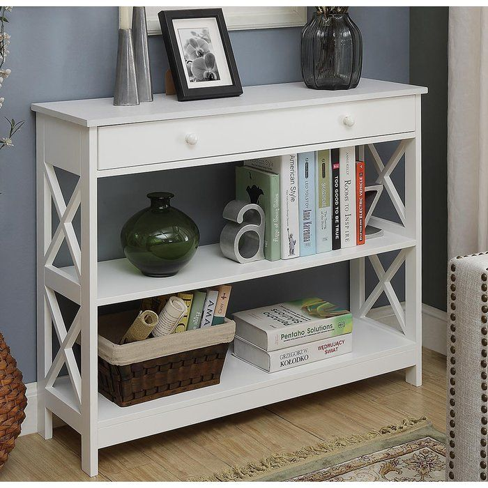 Gracelynn 1 Drawer Console Table Home Decor Console