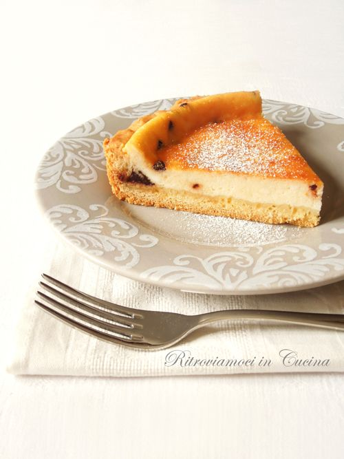 Ritroviamoci in Cucina: Ricotta Tart (Orange and Chocolate)