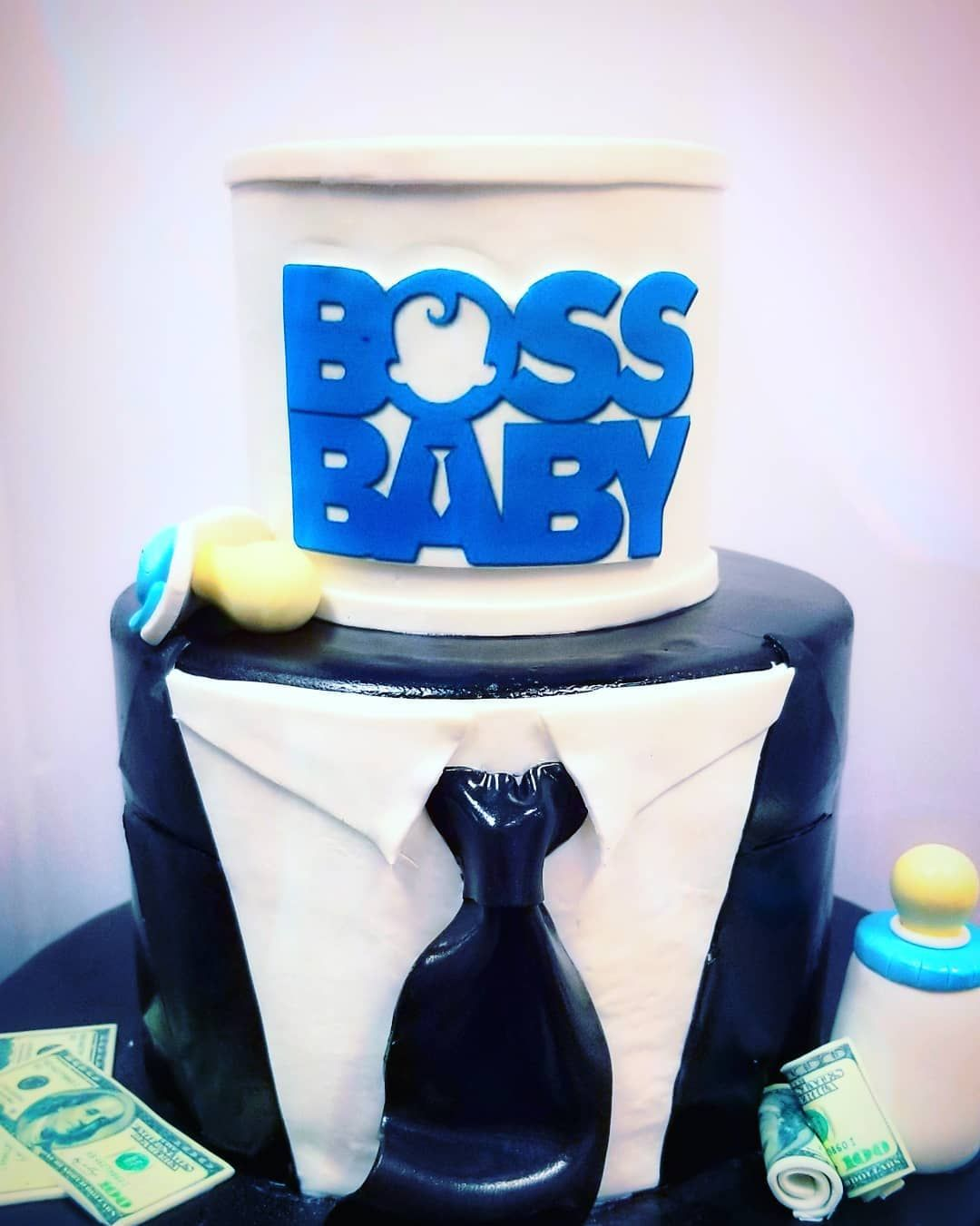 cake for the real Boss Baby!