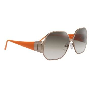 ETRO hexagonal sunglasses available at lemuda.com