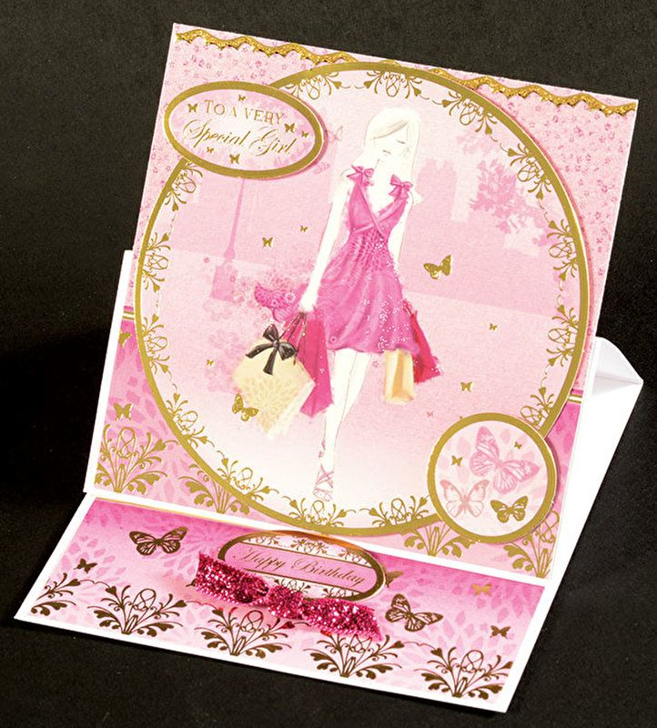 Dressed To Impress Deluxe Card Kit By Hunkydory Crafts 4010357