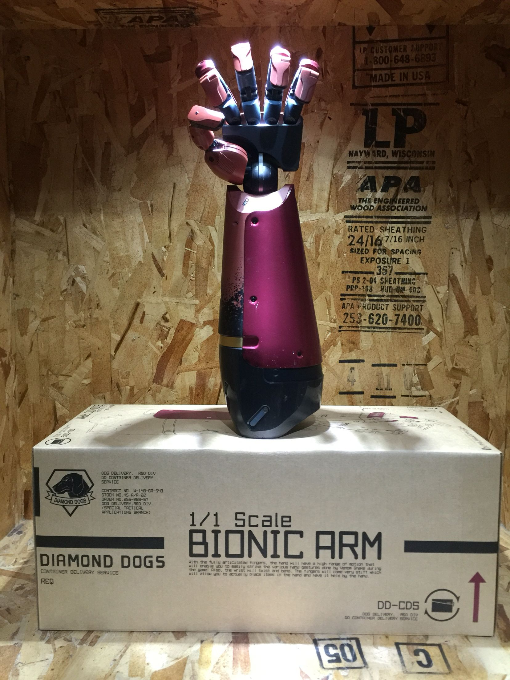 Metal Gear Solid V: 1/1 Scale Bionic Arm