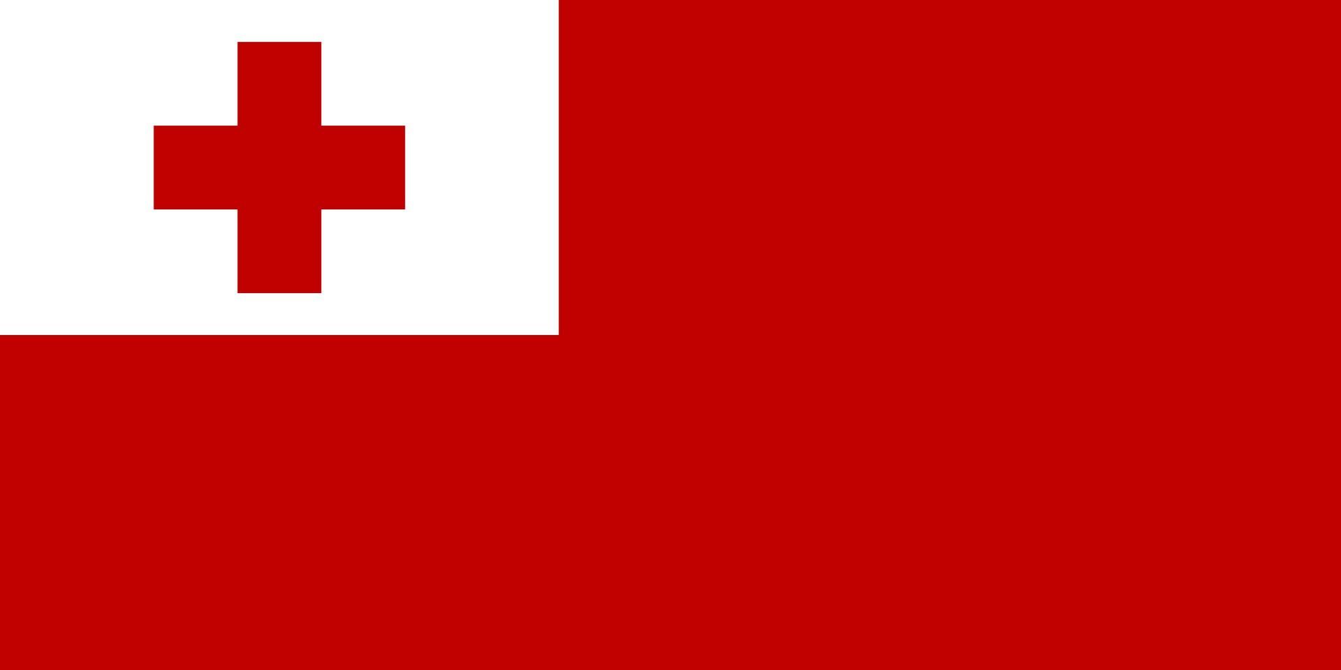 Flag Of Tonga Wallpaper