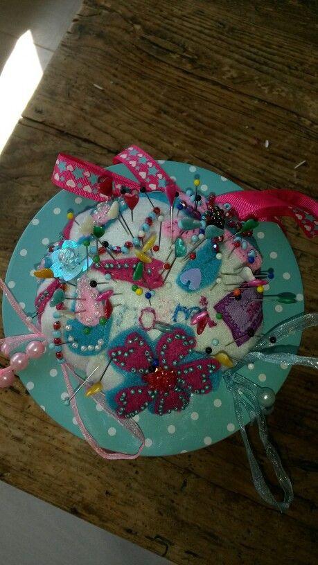 Ik heb dit naaiblik voor Noemi's 6e verjaardag gemaakt.