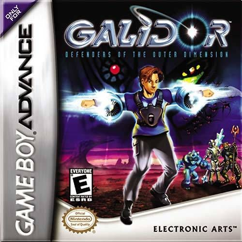 Galidor Defenders of the Outer Dimension - Game Boy Advance Game