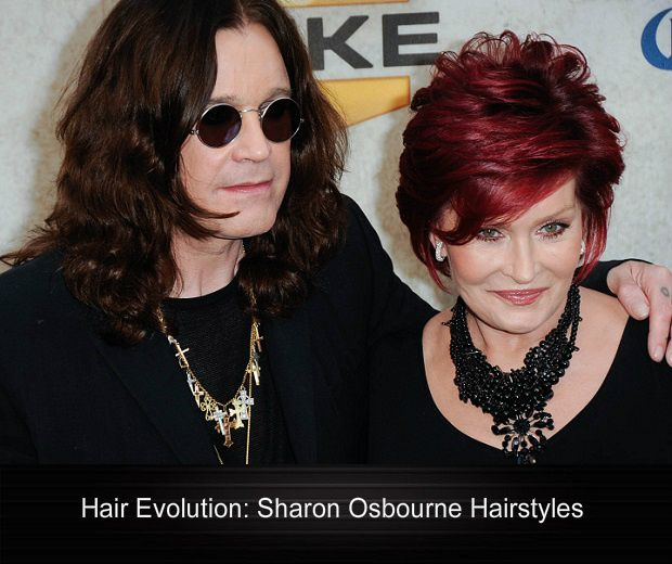 Hair Evolution-Sharon Osbourne Hairstyles | Sophisticated ALLURE