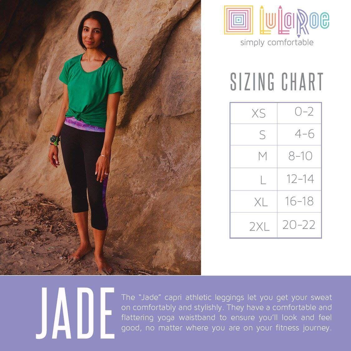 6e8e1daac5f63d Pin by Jill Domme © on Plunder Biz Ideas | Lularoe jade sizing ...