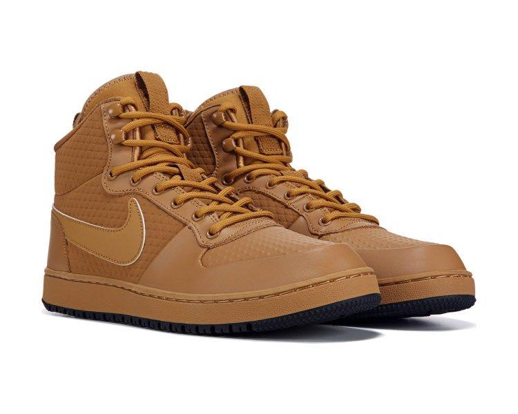 Nike Ebernon Winter Mid Top Sneaker Black Gum Mid Top Sneakers Sneakers Sneakers Fashion