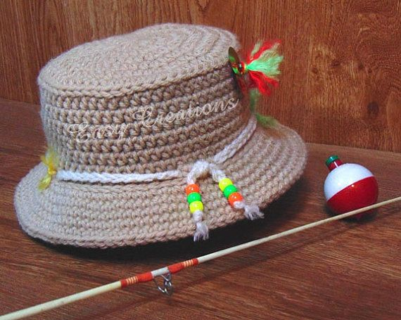 a490770bc CROCHET PATTERN, Baby, Fishing, Hat, Bucket, boy, boys, girl, girls ...