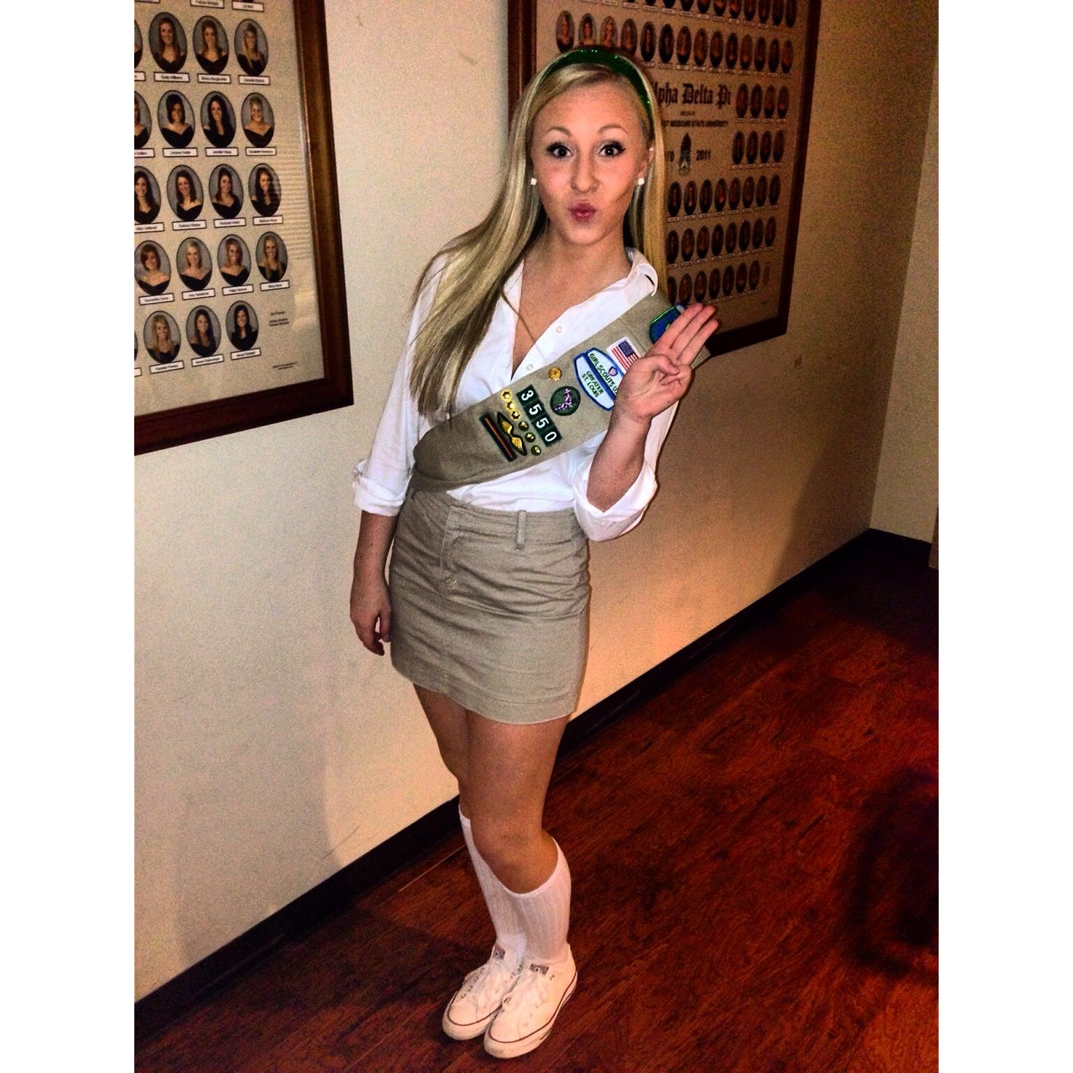 The ULTIMATE COLLEGE HALLOWEEN COSTUMES FOR 2020 & 2021, Hot Girl Scout