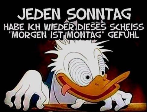 Sonntag Witzig