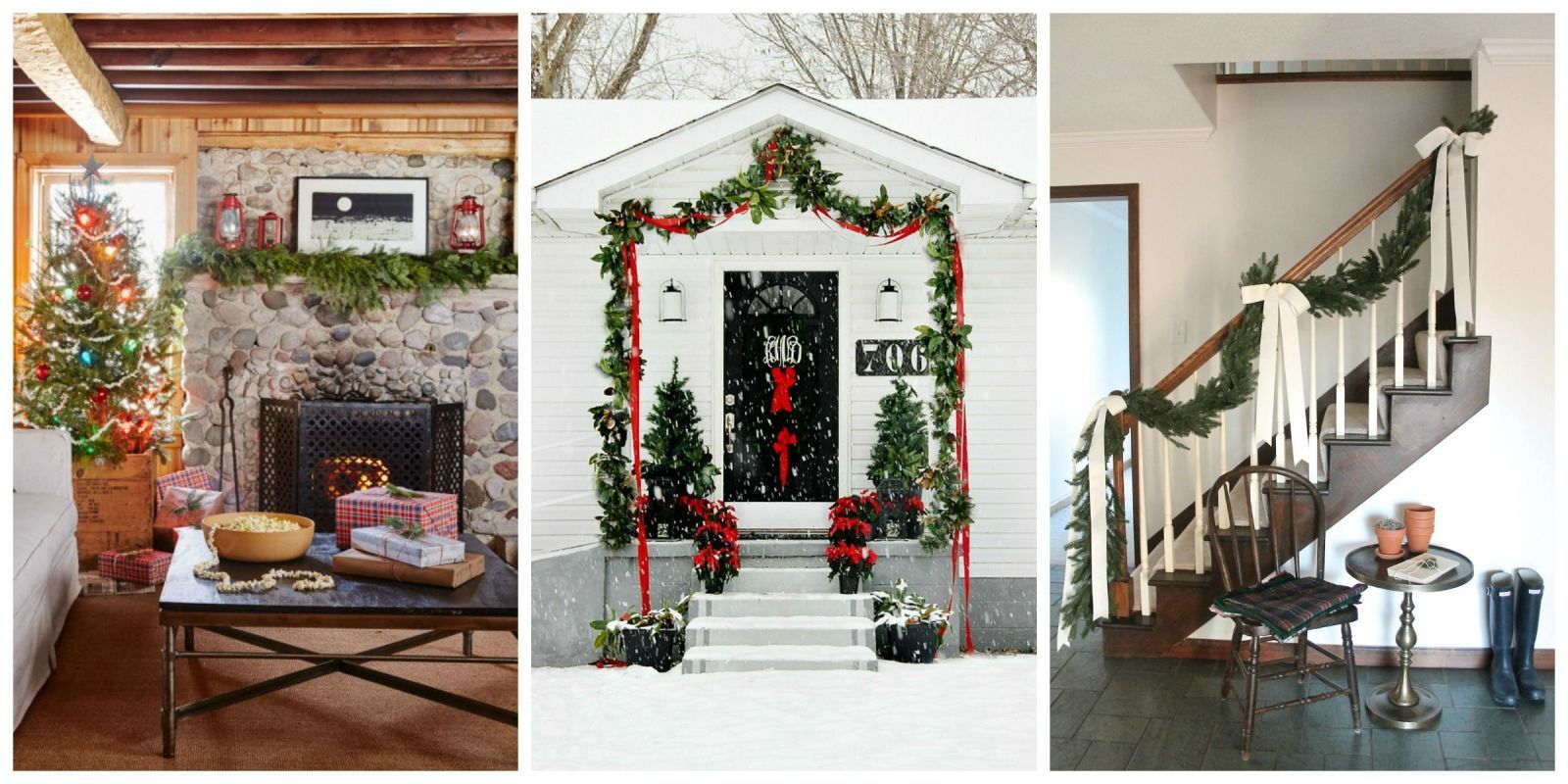 43 festive and beautiful ways to decorate with christmas garlands countrylivingcom