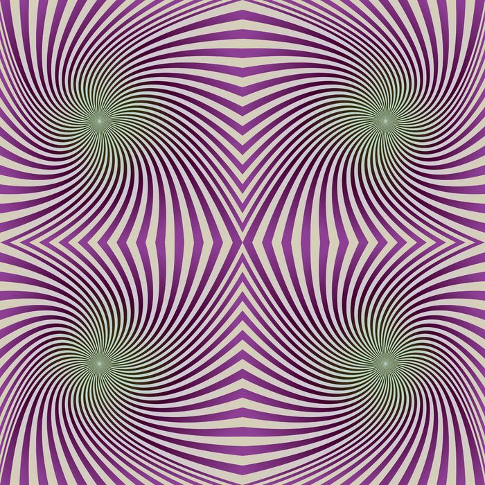 Compure Genrerated Art Print - Seamless vortex background