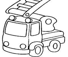 Camions de pompiers pompiers pinterest pompiers coloriage et moyen de transport - Camion pompier a colorier ...