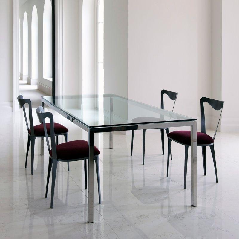 Dining Room Glasstopdiningtableswithmetalbaseand4Set Captivating Metal Dining Room Furniture Decorating Design