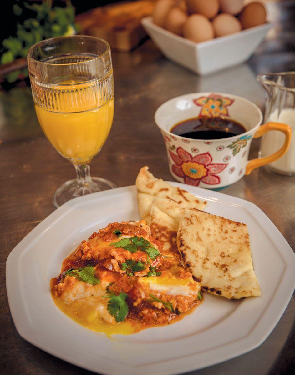 Chef Ruth Levine's Shakshuka Recette Café