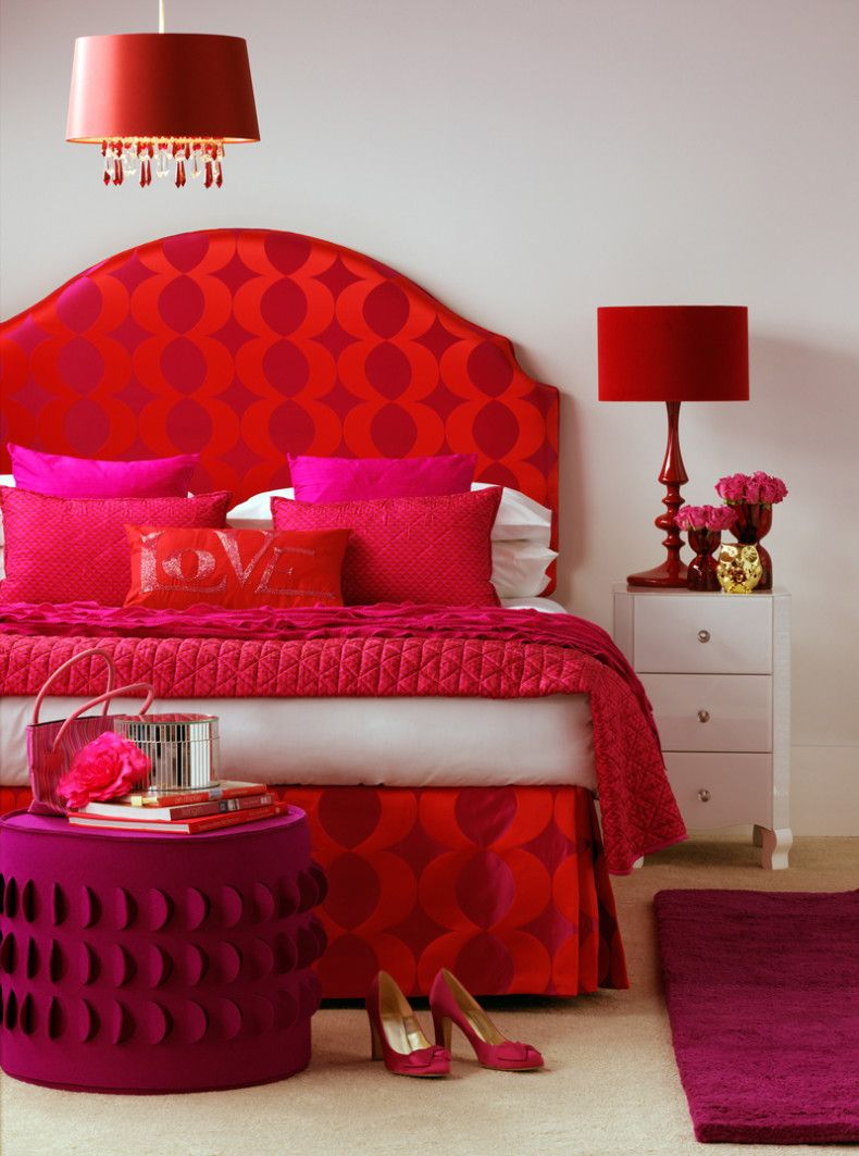 Romantic Red Bedroom Ideas: The Beginner's Guide To Color Psychology For Interior