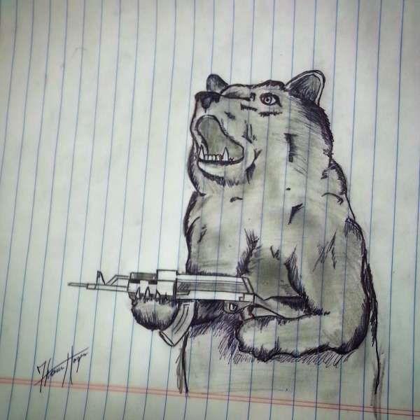 30 Funny Notebook Doodles | Funny doodles, Notebook ...