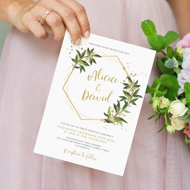 An Ethereal Illustration Of Watercolor Roses In Pink Creates The Peaceful Nature Of Thes Beautiful Wedding Invitations Garden Wedding Invitations Wedding Cards