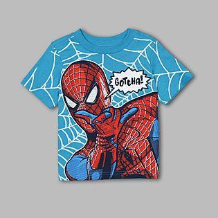Marvel- -Infant & Toddler Spiderman Gotcha T-Shirt