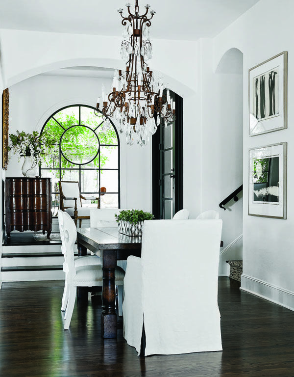Black And White Kitchen and Dining Rooms Chandeliers Black and