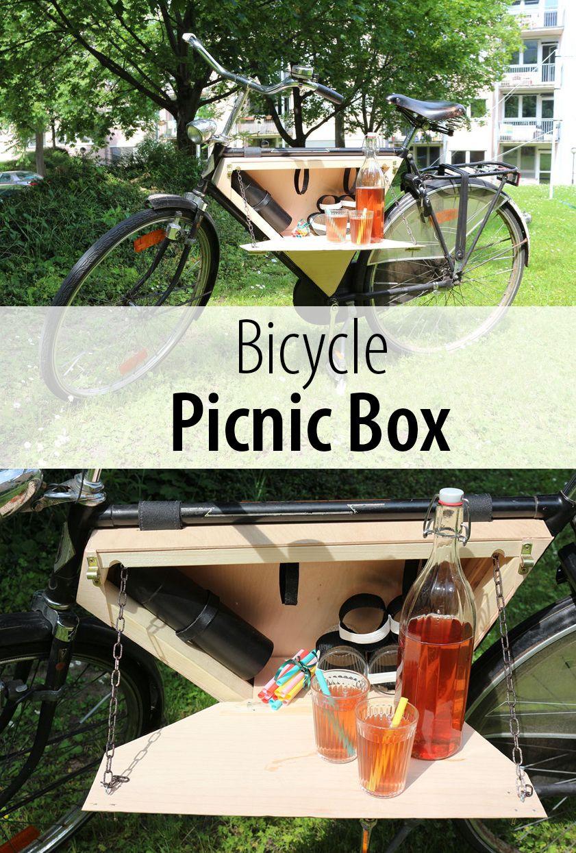 Bicycle Picnic Box Progetti Per La Lavorazione Del Legno