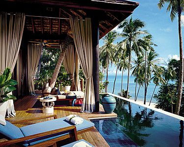 The Four Seasons Koh Samui Is Designed To Be Open Elements And Spectacular Views Photo