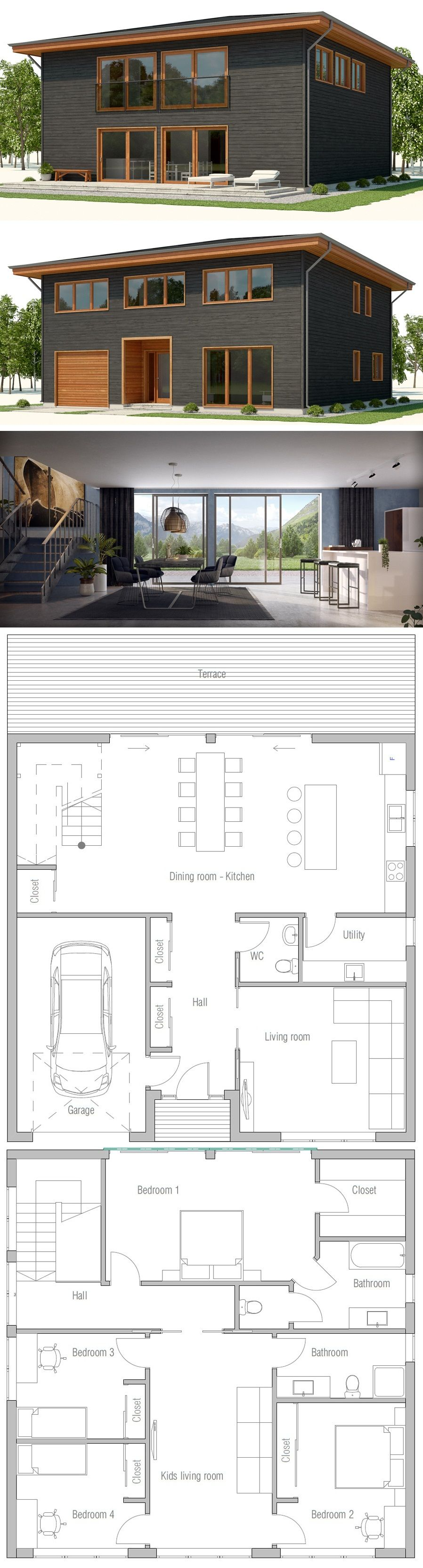 House Plan 2018 | Houses | Pinterest | House, Architecture and House ...