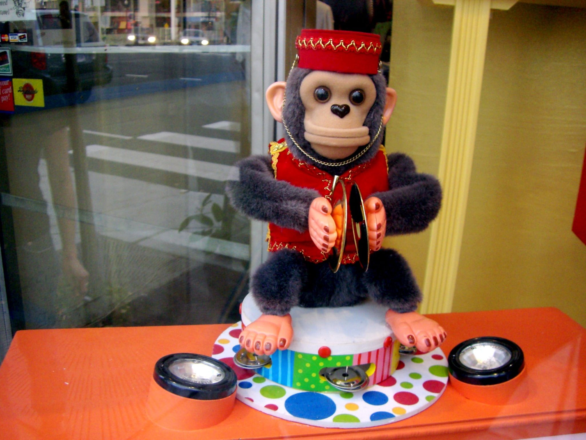 monkeys with cymbals in box cymbal banging monkey toy