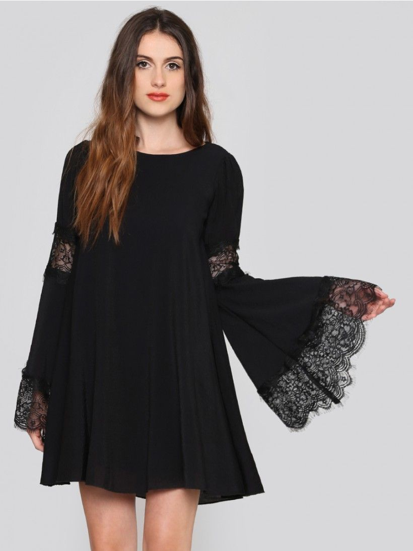 835b135672d9 Festival Bell Sleeve Dress - Gypsy Warrior Sleeved Dress