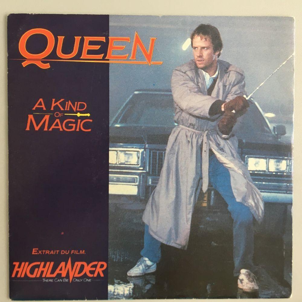 Queen A Kind Of Magic 7 Vinyl France Unique Lambert Sleeve A Kind Of Magic Queen Discography Queen