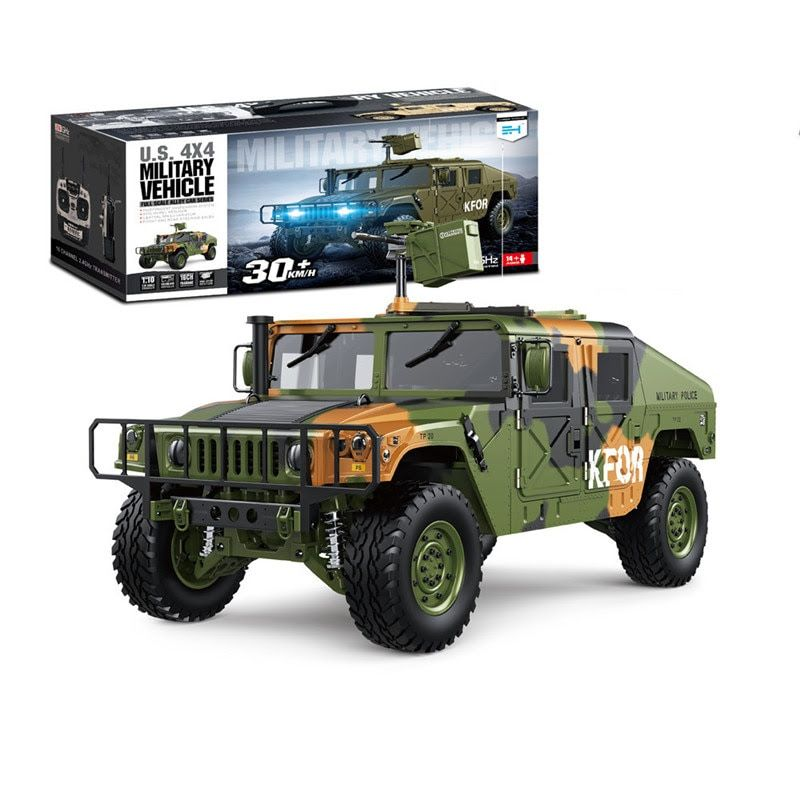 4x4 military vehicle truck without battery charger remote