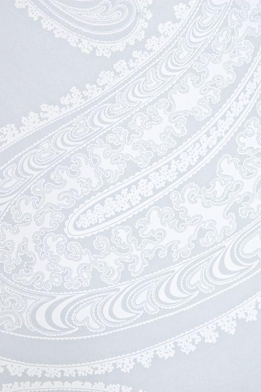 Rajapur Paisley Wallpaper Large Design Paisley Print Wallpaper In Light  Blue Grey With White Design. Part 93