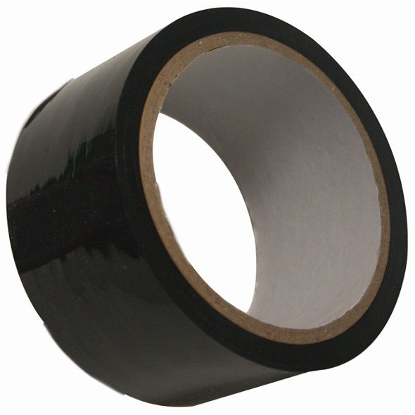 Non-sticky bondage tape.Tape your partner completely so that you can drive him/her wonderfully crazy with everything you do. There is no escaping! The tape is 50 mm wide and has a total length of 9,14 meters so you can go on and on!