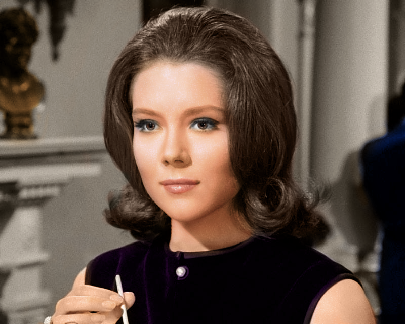 Diana Rigg (The avengers) | Diana Rigg in 2019 | Dame ...