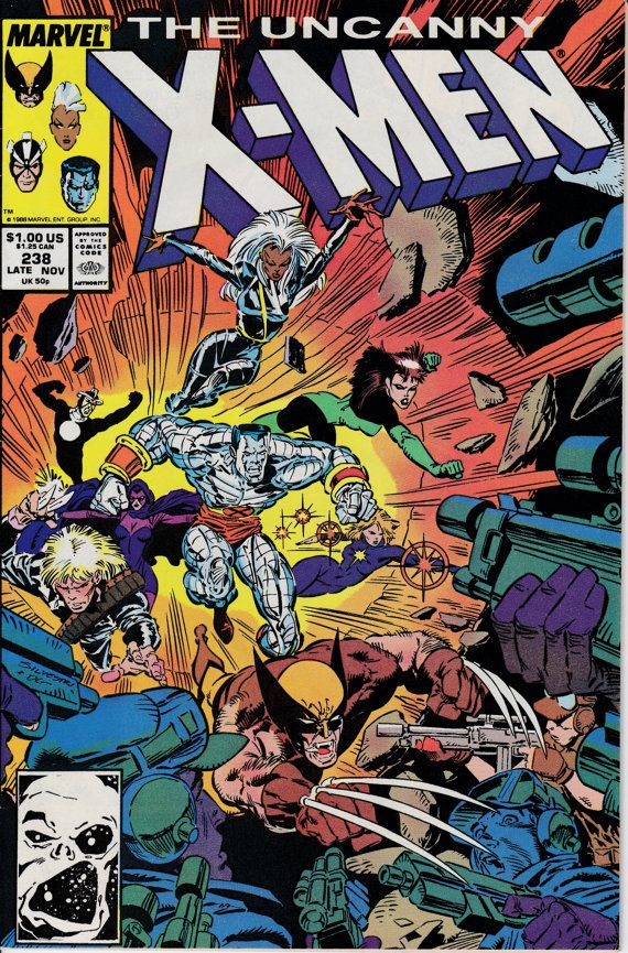 Uncanny X-Men 1963 1st Series 238 November 1988 by ViewObscura