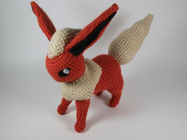 Ravelry: Flareon pattern by -Crochet - Hook- | ♥ Amigurumi ...