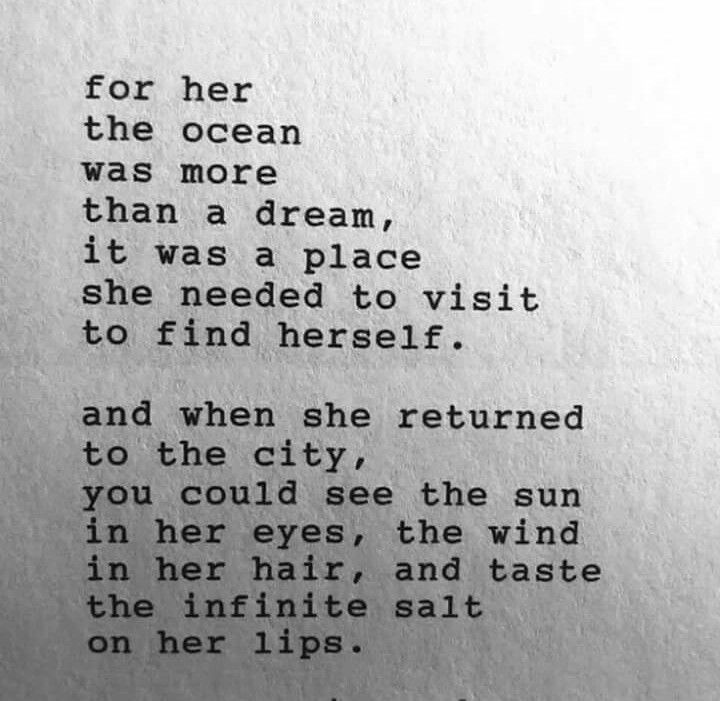 salted ocean kissed