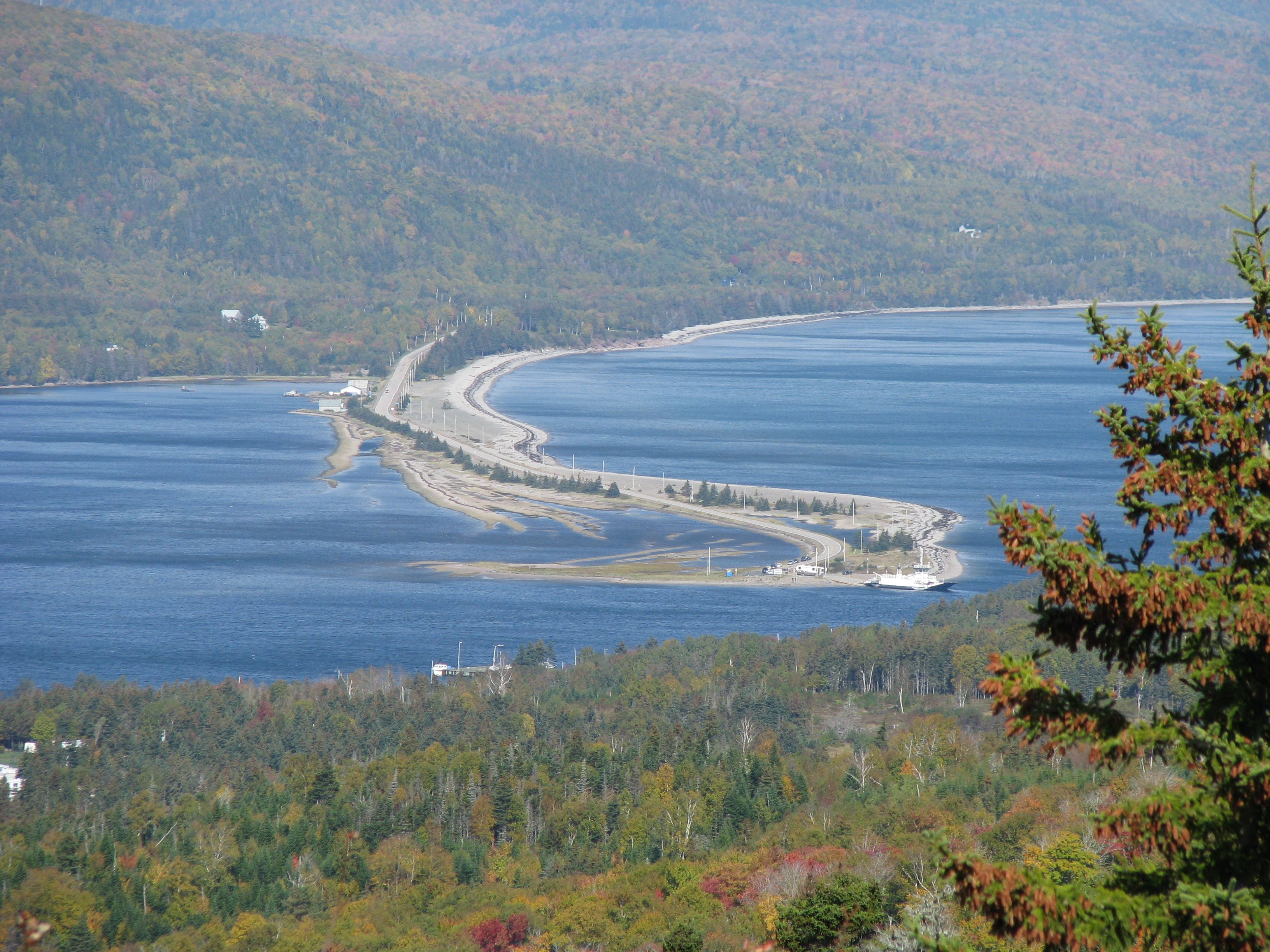 St.Anns look off on Kelly's mountain Cape Breton