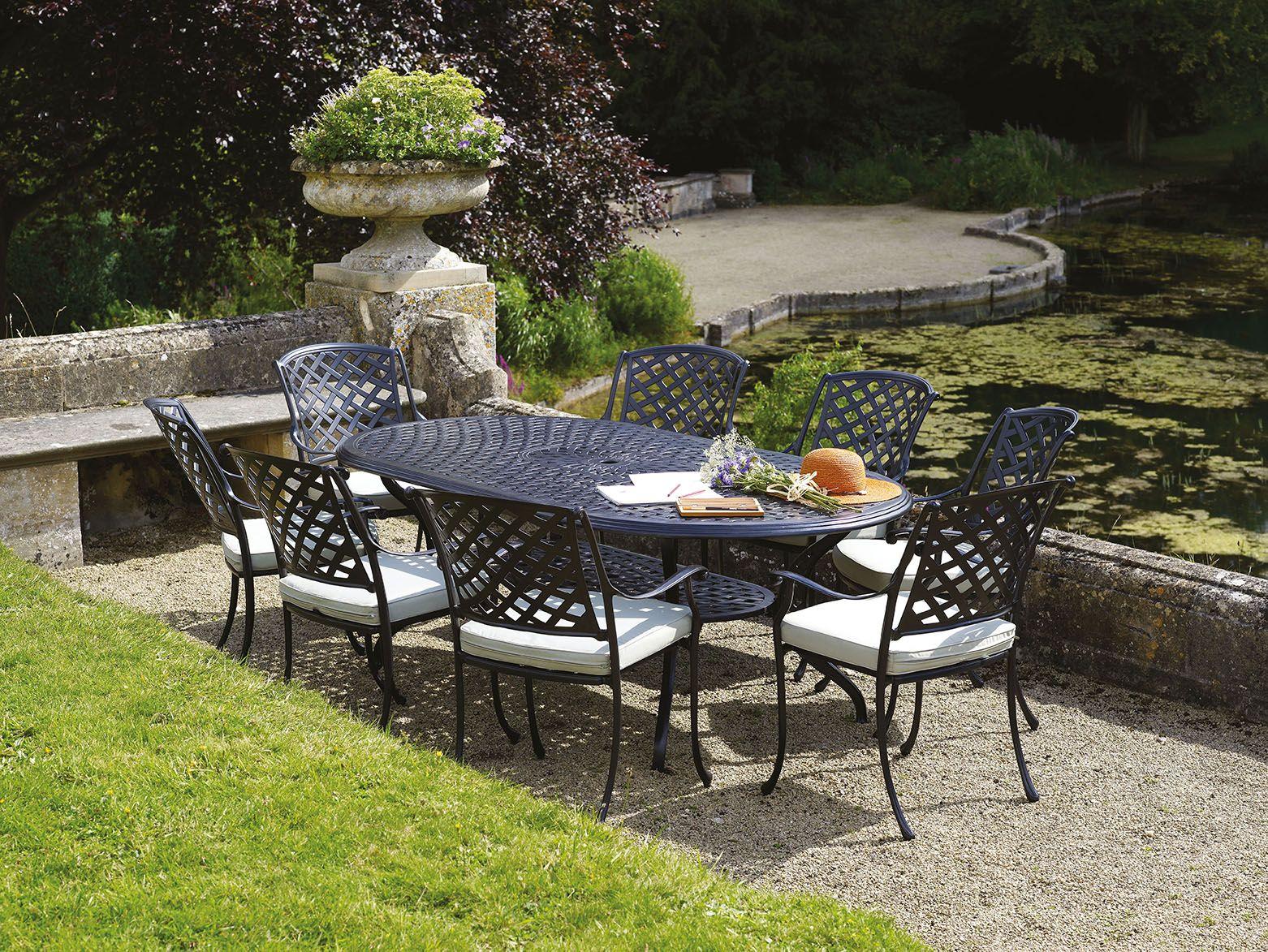 Bramblecrest powder-coated aluminium furniture is rust-free, easy to ...