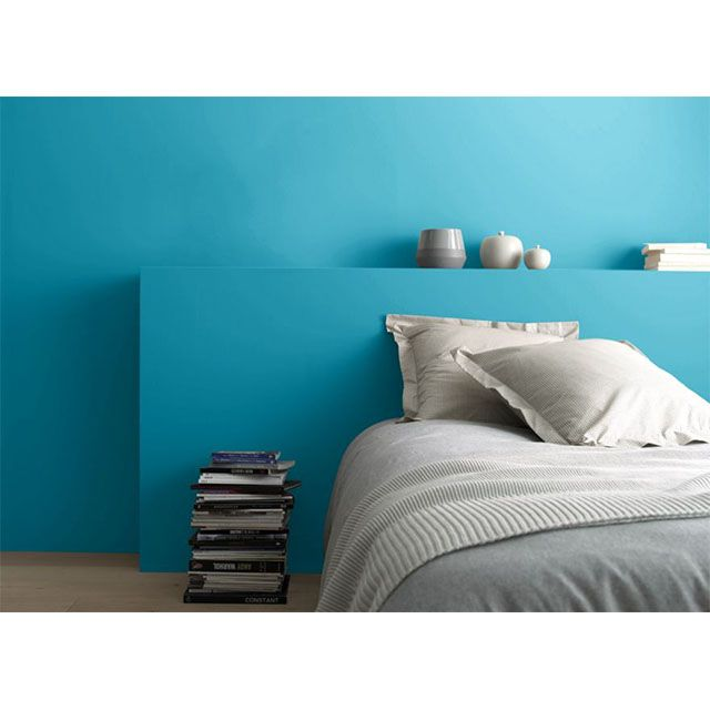 Peinture MultiSupports Colours Collection Bleu Ptrole Satin L