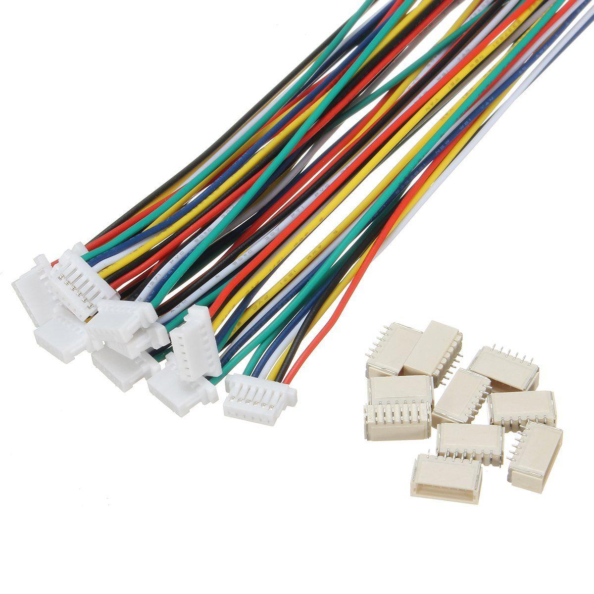 Wholesale price 10 Sets Mini Micro 1.0mm SH 6-Pin Connector Plug ...