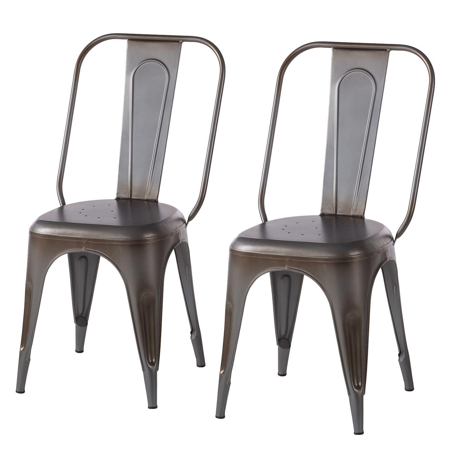 Chaises Feruminia Lot De 2 Stuhle Tisch Und Stuhle Esszimmerstuhle