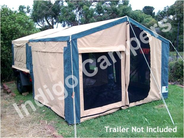 Find the best traveller 6, 9, 10, 12 and super 12 size camping trailers, camping tents & camper tops for sale at affordable price from Australia tent manufacturer Indigocampers.