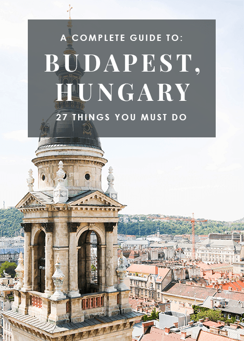 How To Spend 3 Days In Budapest Jennifer An Bui Budapest Travel Hungary Travel Budapest