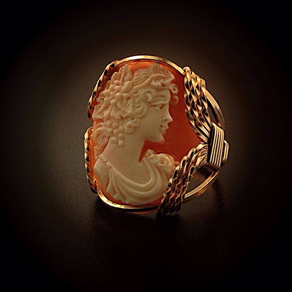Cameo Ring By Ronaldo $240.00 Gayle's Jewelers Bogalusa