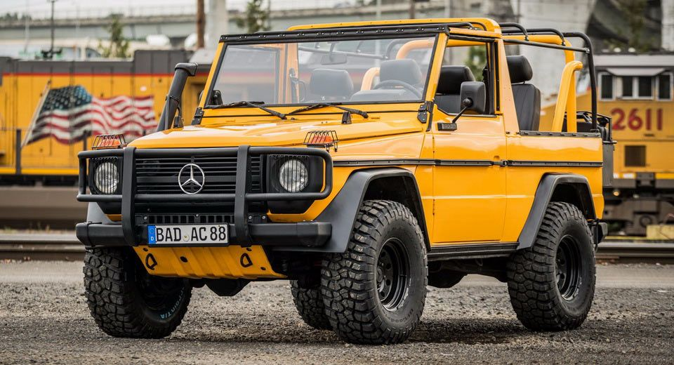 Forget The Amgs This Wolf G Class Is What Merc S 4x4 Is Really