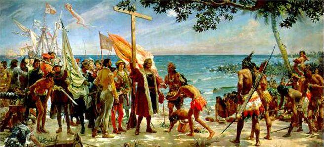 El descubrimiento de América - Tu escuela de español   Conquista de  america, Colonizacion de america, Cristobal colón